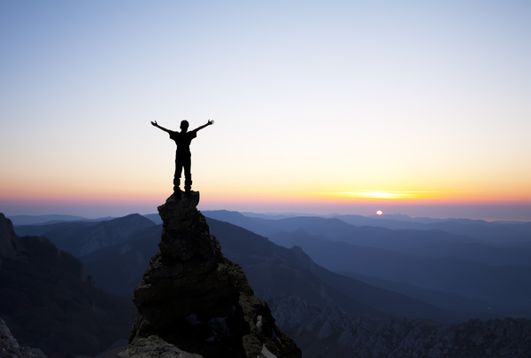 Standing-on-the-top-of-the-mountain-HD-picture
